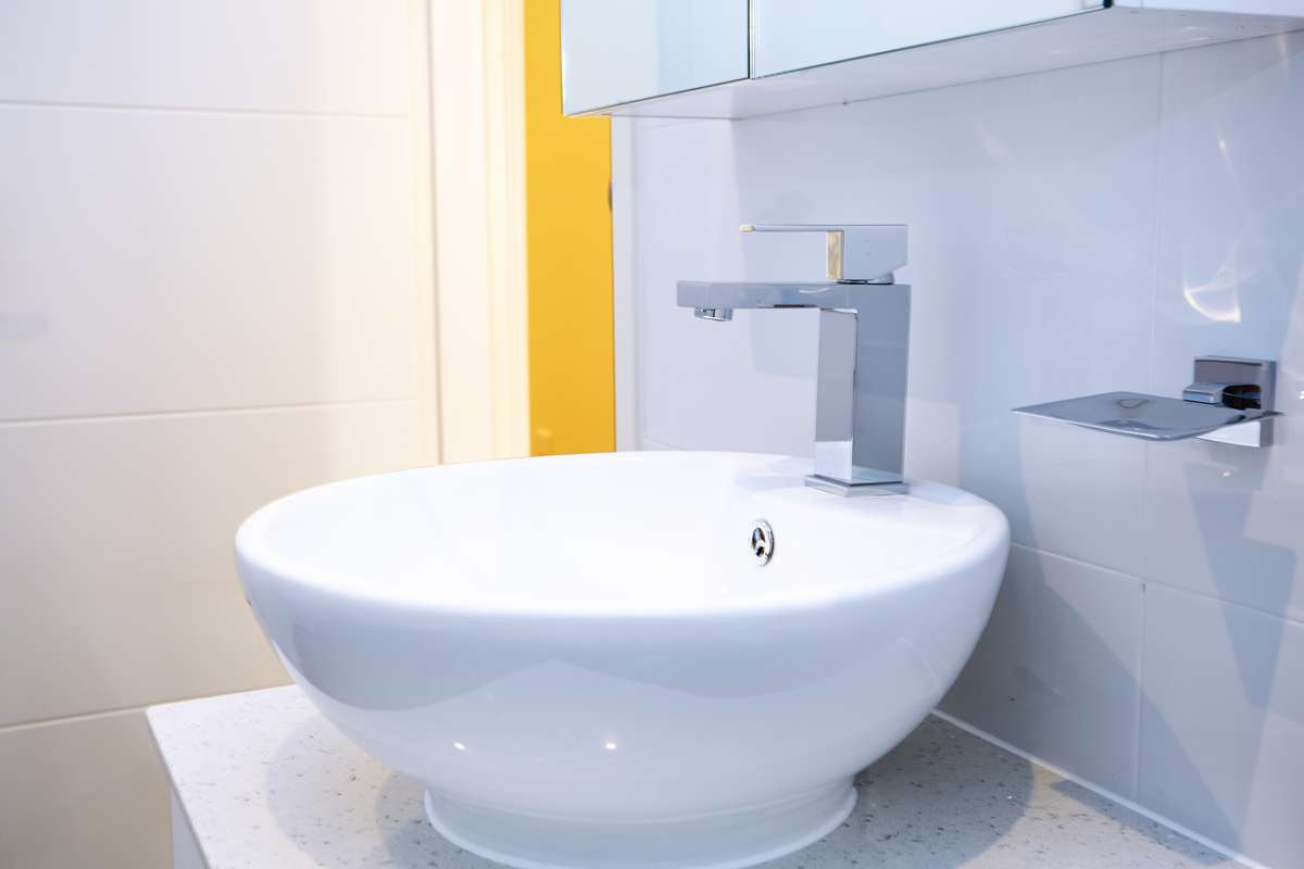 Hornsby Sydney Granny Flat Bathroom Sink